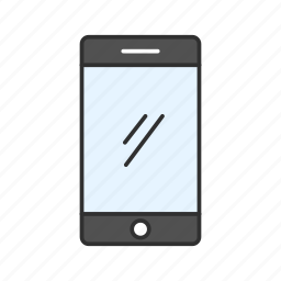 android, iphone, mobile, phone icon