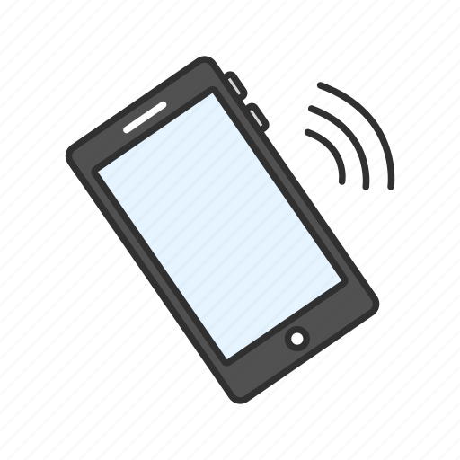iphone, mobile, phone, phone ringigng icon