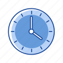 analog clock, clock, timer, watch icon
