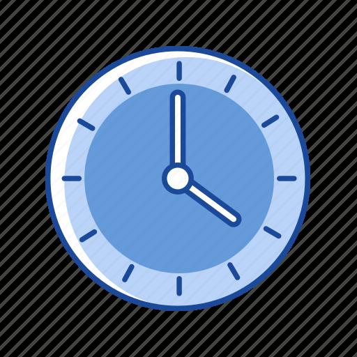 analog clock, clock, timer, watch icon
