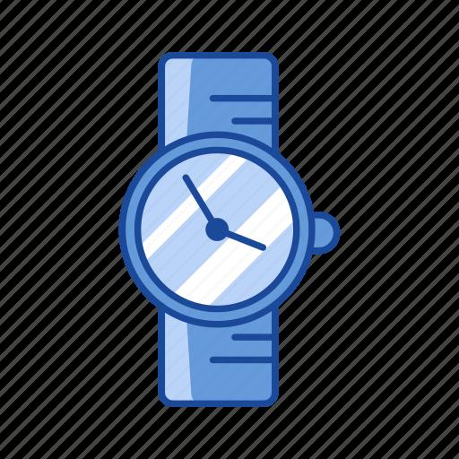 alarm, clock, watch, wrist watch icon