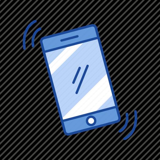mobile, phone, phone alarm, phone ringing icon