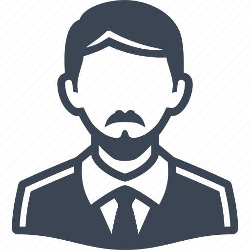 account, avatar, business, businessman, male, man, moustache, people, person, profile, tie, user icon