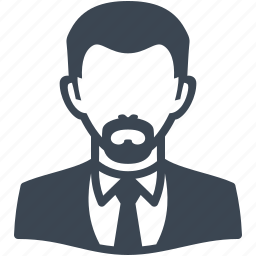 avatar, businessman, male, man, user icon