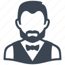 avatar, male, man, user, waiter icon