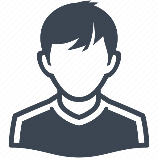 avatar, male, man, teenager, user icon