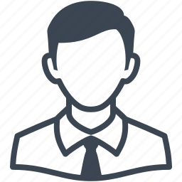 account, avatar, business, businessman, male, man, people, person, profile, tie, user icon