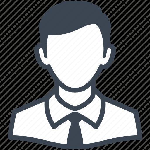 avatar, businessman, man, user icon