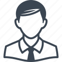 avatar, businessman, man, student, teacher icon
