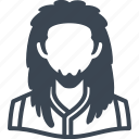 avatar, man, rasta, user icon