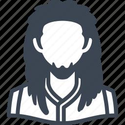 avatar, male, man, rasta, user icon