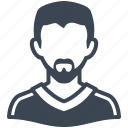 avatar, man, profile, user icon