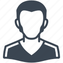 avatar, male, man, profile, user icon