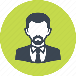 avatar, businessman, male, man icon