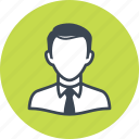 businessman, man, avatar icon