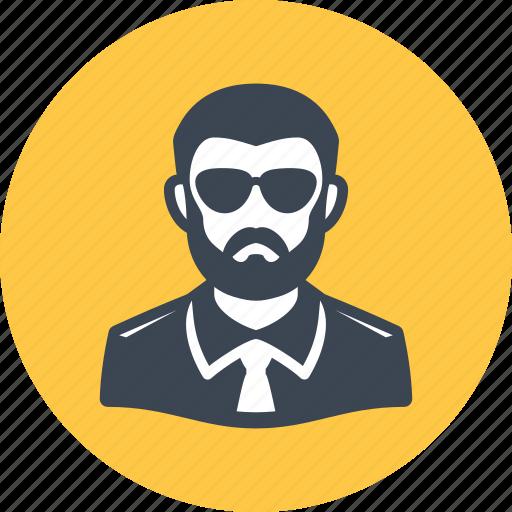 avatar, man, spy icon