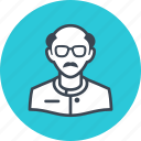 avatar, man, scientist icon