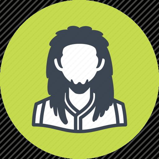 avatar, man, rasta icon