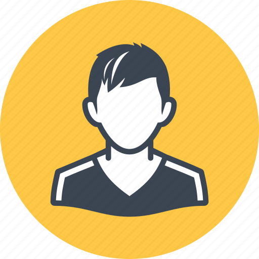 avatar, man, teenager icon