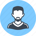 profile, man, avatar icon