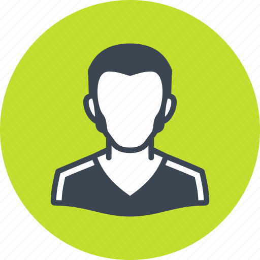 avatar, male, man, profile icon