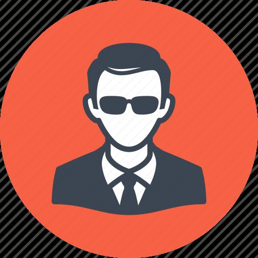 avatar, businessman, man icon