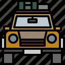 car, item, jeep, men, transportation icon
