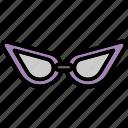 fashion, glasses, item, men, sunglasses icon