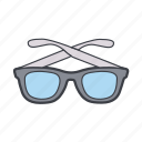 eyeglass, glasses, shades, sunglasses icon