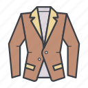 business, clothes, clothing, jacket, wear icon
