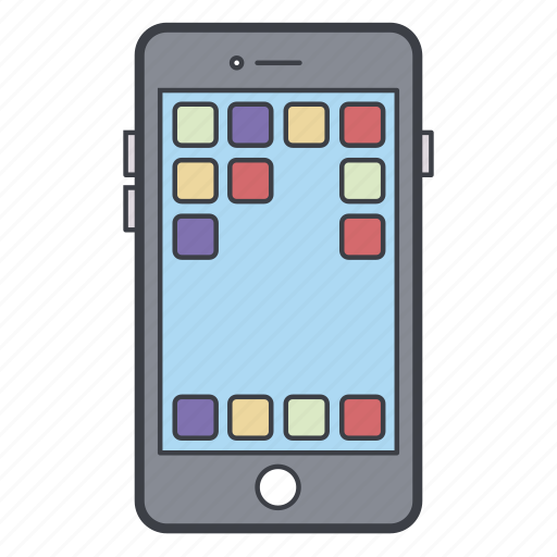 Apps, iphone, mobile, phone icon - Download on Iconfinder