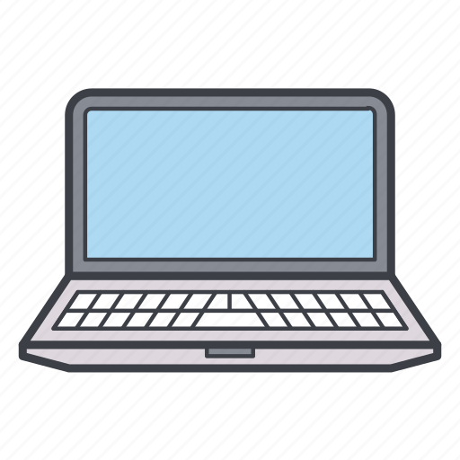 computer, laptop, notebook, pc icon