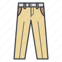 business, clothes, clothing, pants, wear icon