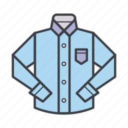 business, clothes, clothing, shirt, wear icon
