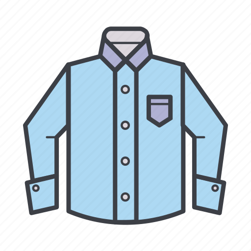 business, clothes, clothing, cufflinks, shirt, wear icon