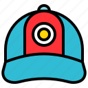 cap, clothes, hat, headgear, headwear icon