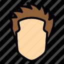 men, hair, hairstyle, short, spike