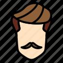 men, hair, hairstyle, short, fade