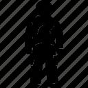 drysuits, insulation, man, men, protection, swimsuit, swimwear icon