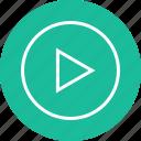 interface, nav, navigation, now, play, ui, vid icon