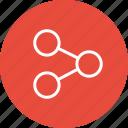 data, good, interface, nav, navigation, share, ui icon