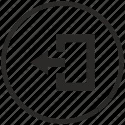 close, exit, function, round, ui icon