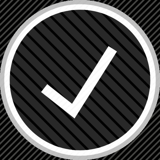 check, checkmark, mark, menu, navigation icon