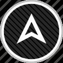 gps, menu, navigation, pin icon