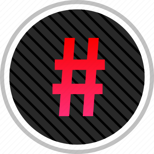 connect, hashtag, media, online, social, tweet icon