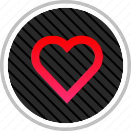 favorite, heart, romance, valentines icon