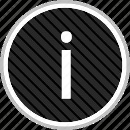 info, information, menu, navigation icon
