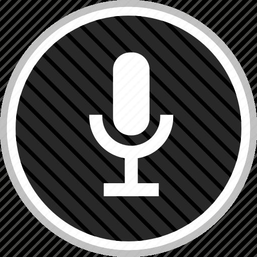 audio, microphone, record icon