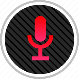 audio, microphone, record, youtuber icon