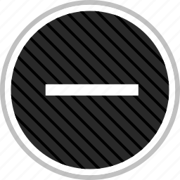 menu, navigation, negative, neutral icon
